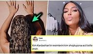 Yine Şaşırtmadı! Paylaştığı Fotoğrafta Photoshop'un Suyunu Çıkaran Kim Kardashian Dillere Düştü