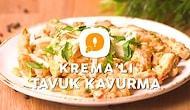 Sütaş Krema'lı Tavuk Kavurma