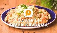 Sütaş Labne'li Tavuk Kavurma