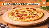 Bayılarak Yiyeceğiniz Şipşak Bir Lezzet! Tavada 10 Dakikada Kolay Pizza Nasıl Yapılır?