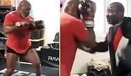 53 Yaşındaki Mike Tyson'ın Formundan Hiçbir Şey Kaybetmediğini Gösteren Antrenman Görüntüleri