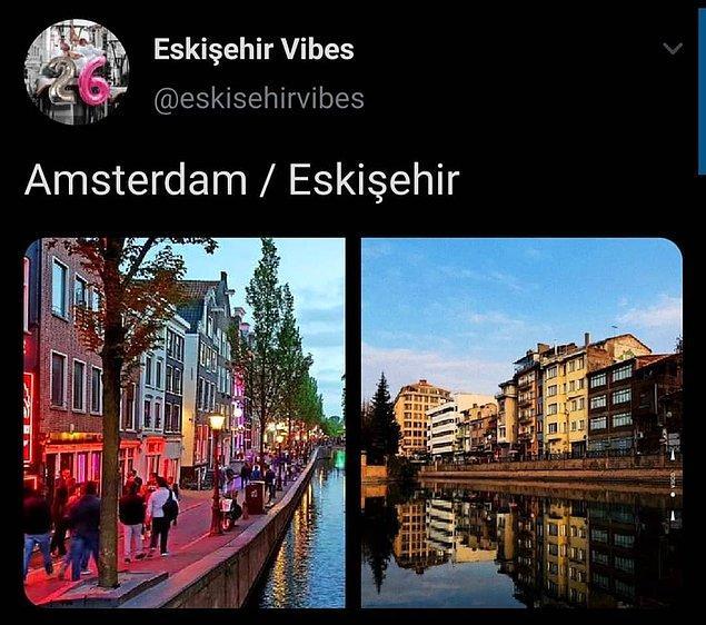 Avrupa'nın birçok güzel şehri ile ortak yönleri olan Eskişehir'in sık sık gündem olmasına alışkınız.