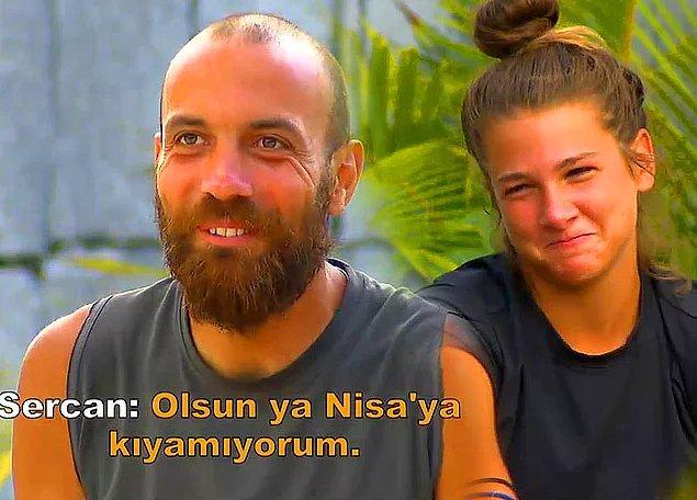 Survivor 2020'ye damga vuran olaylardan biri hiç kuşkusuz Sercan-Nisa olayı...