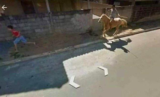 13. At ile arkadaş kovalamak?