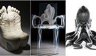 Hepsi Çılgın Bir Zihnin Ürünü Olan 21 Sıra Dışı Sandalye Tasarımı