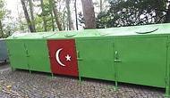 Giresun'da Çöp Konteynerine İşlenen Türk Bayrağı Tepki Çekti: 'Maksadını Aşan Saygısızca Girişim'