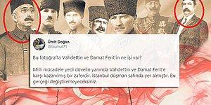 Atatürk'ü İdamını İsteyenlerle Aynı Karede Kullanan Sabah Gazetesi Tepkilerin Odağında