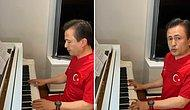 Tuzla Belediye Başkanından 19 Mayıs'ta Piyano ile İstiklal Marşı