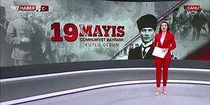 TRT'den Skandal Hata: '19 Mayıs Cumhuriyet Bayramı Kutlu Olsun'