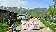 Muhtardan Kontrol Noktası: Muş Varto'da Korona Nedeniyle Köyün Girişi Zincirle Kapatıldı