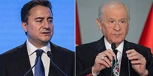 Ali Babacan'dan Bahçeli ve MHP'ye: Ülkeye Hangi Faydaları Dokunuyor?