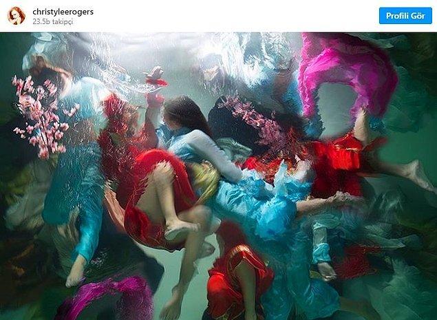 Christy Lee Rogers, suyun da hayvanlar gibi yaşayan bir varlık olduğunu söyledi. Tıpkı hayvanlar gibi güçlü ve şifalı...