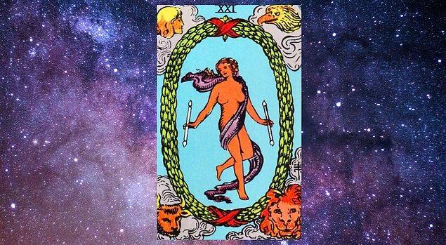 """Seçtiğin kart; """"Dünya"""""""