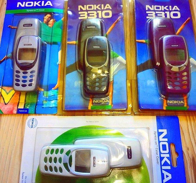 3. Değiştirilebilir telefon kapakları