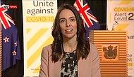 Yeni Zelanda Başbakanı Jacinda Ardern Canlı Yayında Depreme Yakalandı