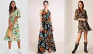 Hem Giyenlerin Hem Bakanların İçi Açılsın: Her Bütçeye Uygun Rengarenk Çiçekli Elbiseler