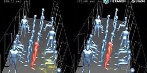 Korkutan Simülasyon: Metro ve Kapalı Ortamlarda Koronavirüs Nasıl Bulaşıyor?
