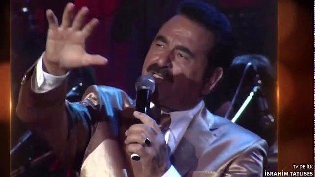 İbrahim Tatlıses'in yıllar önce Harbiye Cemil Topuzlu Açıkhava Sahnesi'nde verdiği konser, Tv'de ilk kez Kanal D'de yayınlandı.
