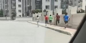 Sokağa Çıkma Yasağına Uymayan Çocukları Korkutan Tüpçü