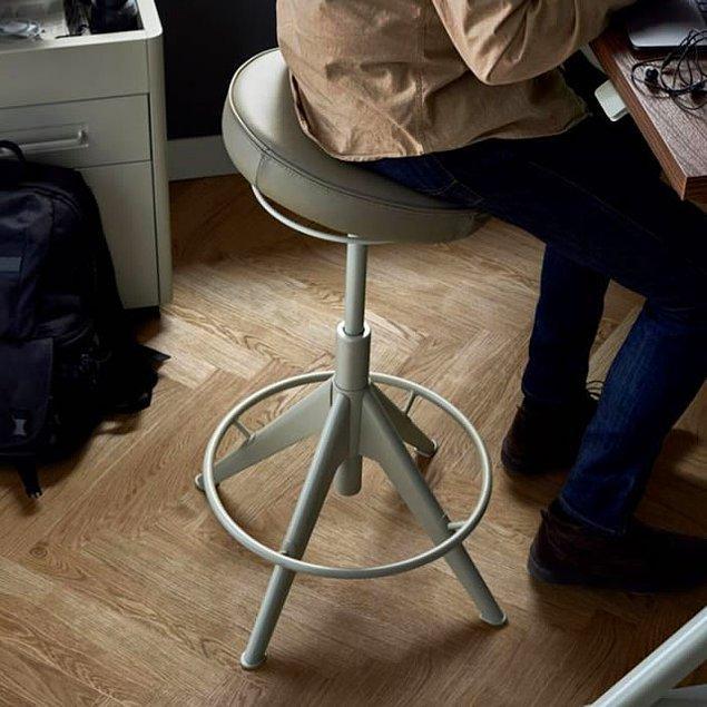 5. Masadan sonra belki de en önemli şey sandalye!