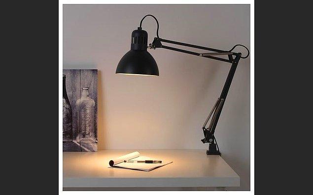 11. Masaların olmazsa olmazı ise ışık.