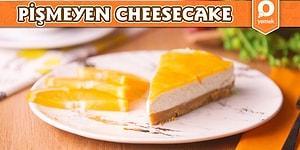 Pratik Tarif Arayan Cheesecake Sevenlere Nefis Bir Tarifimiz Var: Pişmeyen Cheesecake! Pişmeyen Cheesecake Nasıl Yapılır?