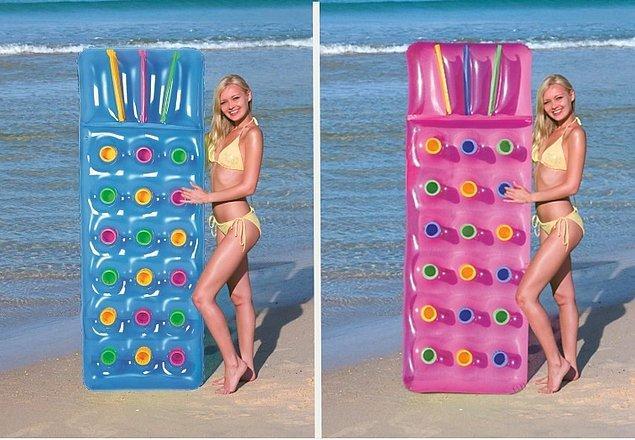 10. Kendini dalgaların hoş ahengine bırakmak istiyorsan kaliteli ve uygun fiyatlı olan bir deniz yatağı tam şurada: