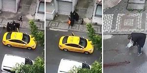 Şoförün 'Araç Kirlenir' Diyerek Taksiden İndirdiği Hamile Kadın Sokakta Doğum Yaptı...