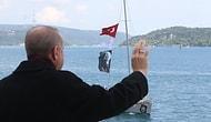 Erdoğan Huber Köşkü'nden Selamladı: İstanbul Boğazı'nda Yelkenlilerden 'Fetih Saygı Geçişi' Etkinliği