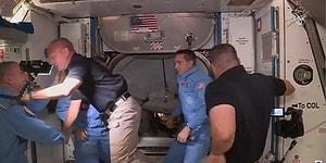 SpaceX'in Taşıdığı Astronotlar, Uluslararası Uzay İstasyonu'na Başarıyla Ulaştı
