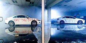 100 Binlerce Dolarlık Mercedes'leri Yakıp Kullanılamaz Hale Getiren Protestocular