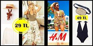 Yaz Sezonu İçin Eksiklerinizi Tamamlayın: H&M'de 100 TL Altına Alabileceğiniz 17 İndirimli Ürün