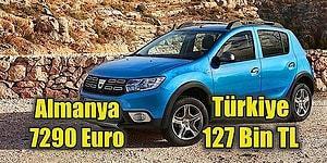 Yurt Dışında Satılan Sıfır Arabaların Fiyatları ile Türkiye'deki Fiyatları Görünce Çok Şaşıracaksınız