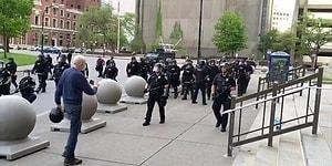 ABD Polisinin Protestoculara Uyguladığı Şiddet Görüntülerinin Derlendiği 3 Dakikalık Can Sıkıcı Video