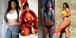 Kadınların Kilo Aldıklarında da Mutlu ve Seksi Olabileceğini Gösteren Öncesi ve Sonrası 18 Fotoğraf