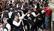 ABD'deki Irkçılık Protestoları Avrupaya da Sıçradı: İngiltere'de 27 Polis Yaralandı