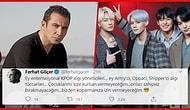 Adeta Soğuk Savaş! Ferhat Göçer Attığı Tweetlerle K-POP Fanlarını Kızdırdı