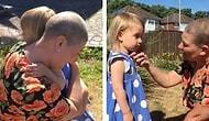 Kanser Tedavisi Görürken Kızından Uzak Kalan Annenin 11 Hafta Sonunda Kızına Kavuştuğu Duygu Dolu Anlar