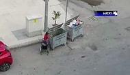 Tekerlekli Sandalyesi ile Çöp Karıştırıp Plastik Atık Toplayan Çocuğun Kahreden Görüntüleri