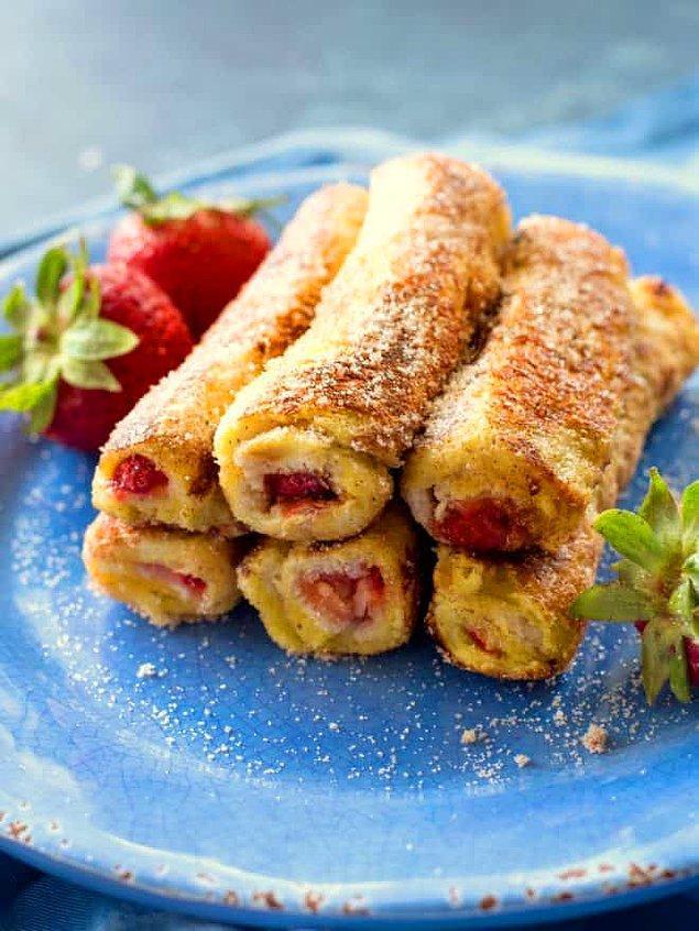 3. Kahvaltının yıldızı olabilecek bir tarif: Fransız rulo tost