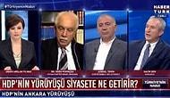 HDP'ye Habertürk Ekranında Söz Verilmemesini 'Burası Bir Kamu Televizyonu Değil' Sözleriyle Savunan Didem Arslan'a Tepki Geldi