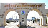 Kırşehir Ahi Evran 2020 Üniversitesi Taban Puanları ve Başarı Sıralaması