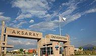 Aksaray Üniversitesi 2020 Taban Puanları ve Başarı Sıralaması