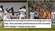 Cimbom Yarışta Büyük Yara Aldı! Uzun Süre 10 Kişi Oynayan Galatasaray, Gaziantep FK Karşısında Son Dakikada Yıkıldı