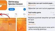 ÖSYM Uygulamasının Puanını App Store'da Düşüren Sınava Girecek Öğrencilerden Tepki Dolu Yorumlar