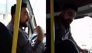 O Anlar Kamerada: Minibüs Şoförü Maske Uyarısı Yapan Kadına Hakaret Ederek Araçtan İndirdi