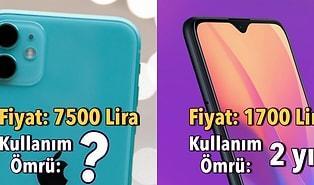 Kararınızı Kolaylaştıralım: İyi Telefon Alıp 5 Sene Kullanmak mı Ucuz Telefon Alıp 2 Sene Sonra Değiştirmek mi?