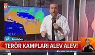 Sınır Ötesi Askeri Operasyonu Stüdyodan Sunan ATV, Habere Aksiyon Tadı Katabilmek İçin Kamerayı Salladı
