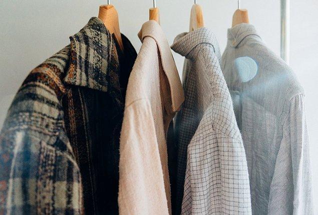 7. Eski kıyafetler