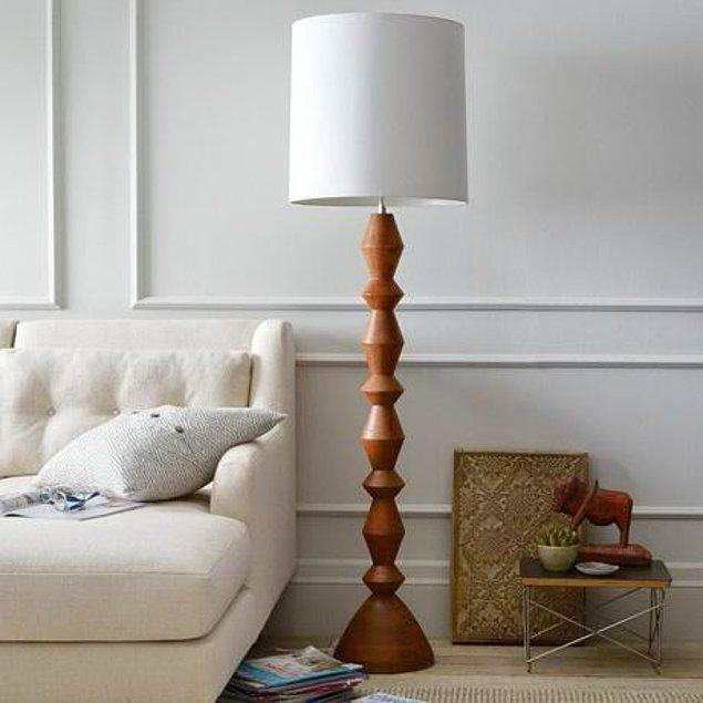 19. Klasik bir lambader.